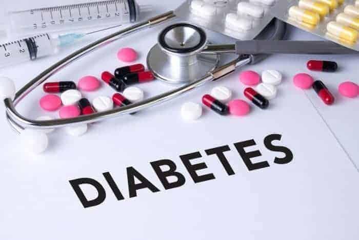 Diabetes im Auge