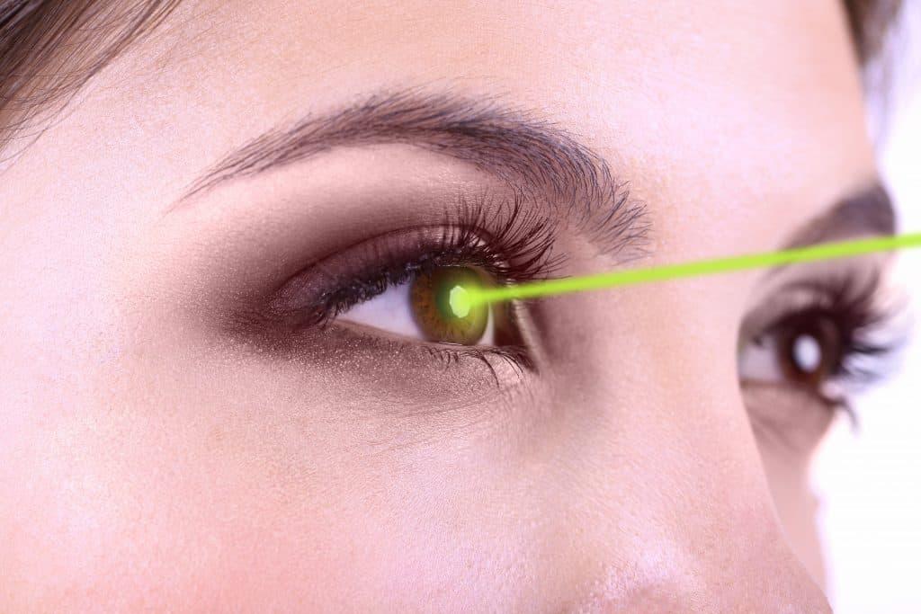PRK-Augenlasern